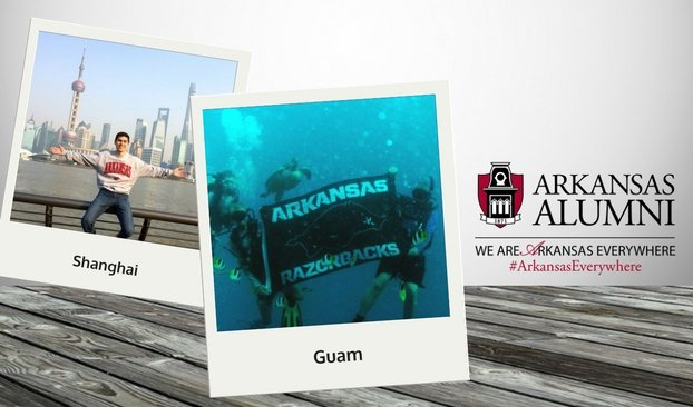Arkansas Everywhere - Guam & Shanghai