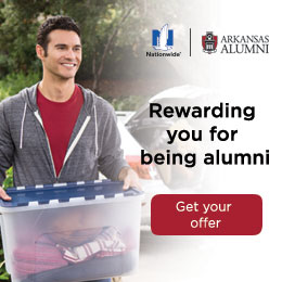 Nationwide | Arkansas Alumni Association. Rewarding you for being alumni. Get your offer now.